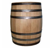 Бочка дубова 200 літрів для напоїв (оцинкований обруч)