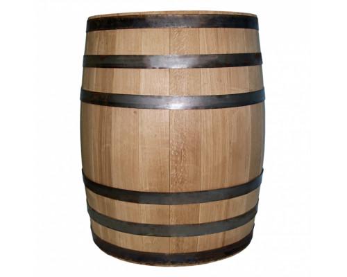 Бочка дубовая 200 литров для напитков (оцинкованный обруч)
