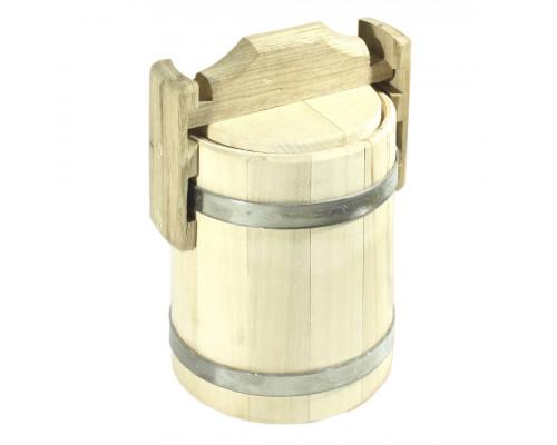 Липовий бочонок для меду 1 л (діжка) - БонПос