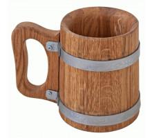 Деревянная пивная кружка 0,5 л