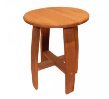 Табурет круглый деревянный