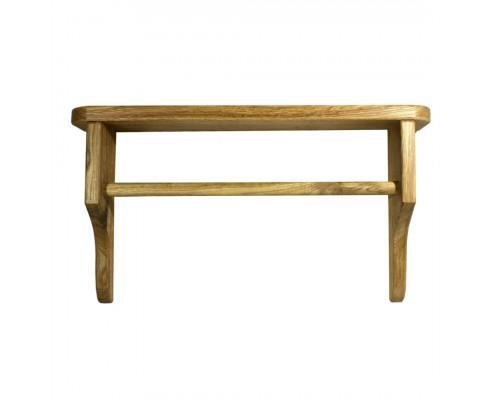 Вешалка деревянная настенная для полотенец
