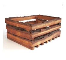 Кашпо для цветов из дерева БонПос (декоративный ящик)