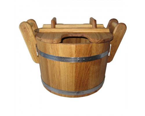 Запарник дубовый для бани 35 л